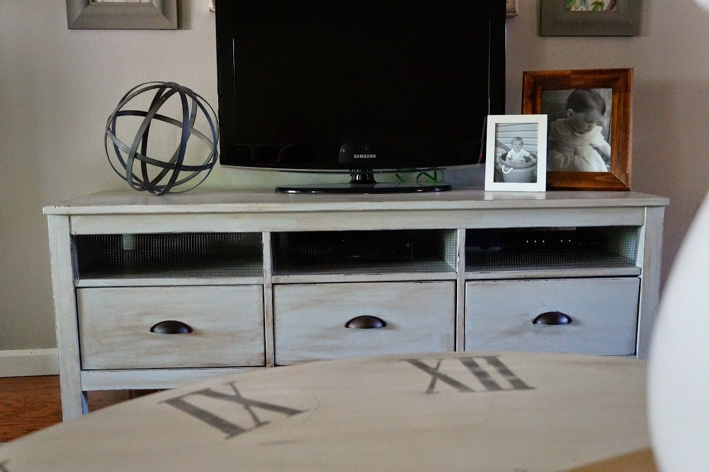 IKEA Hemnes TV Stand refinished