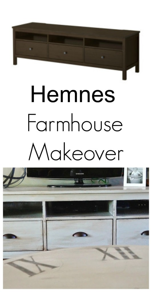 Hemnes farmhouse makeover