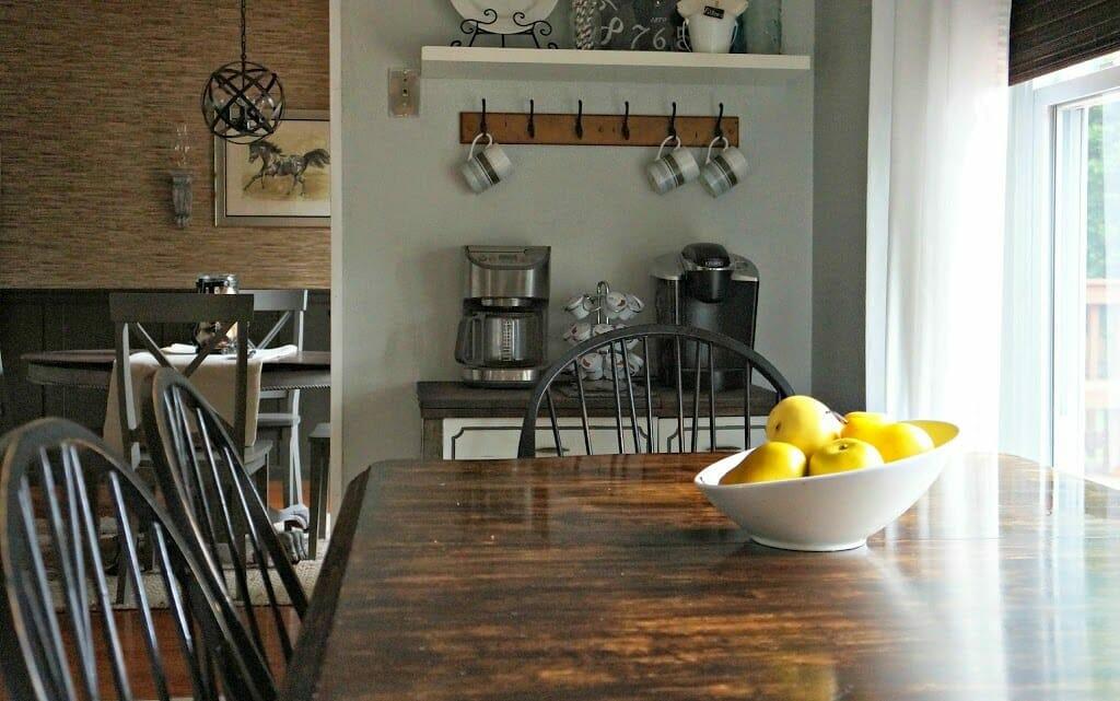 DIY Coffee Nook