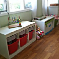 Ikea Play Room in our Last House
