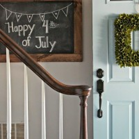 DIY Chalkboard for My Entryway Wall