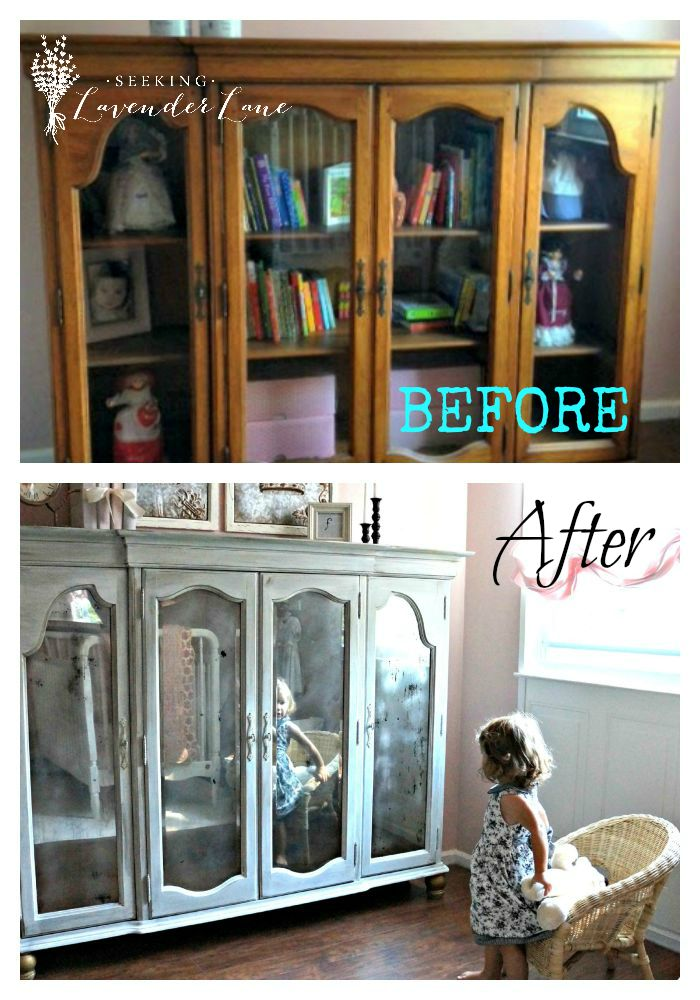 Before and After Armoire