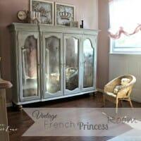 Vintage French Princess Room
