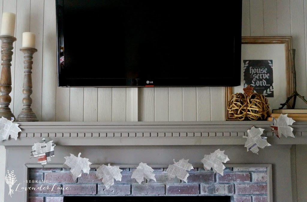 Neutral pallet Fall Mantle