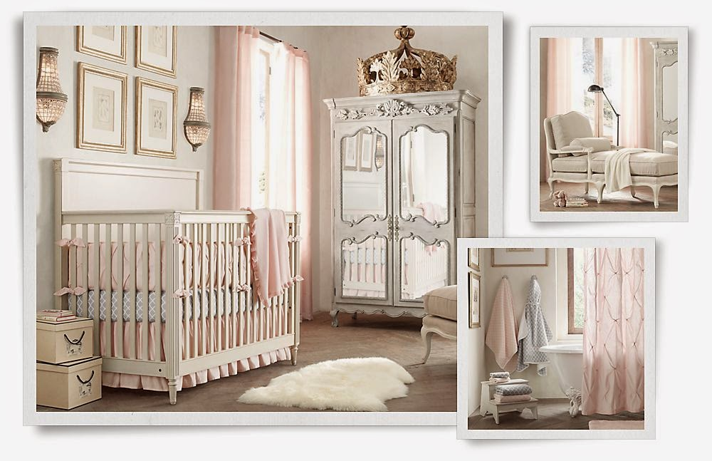 How To Create An Rh Baby Room Without Spending The Money Seeking Lavender Lane