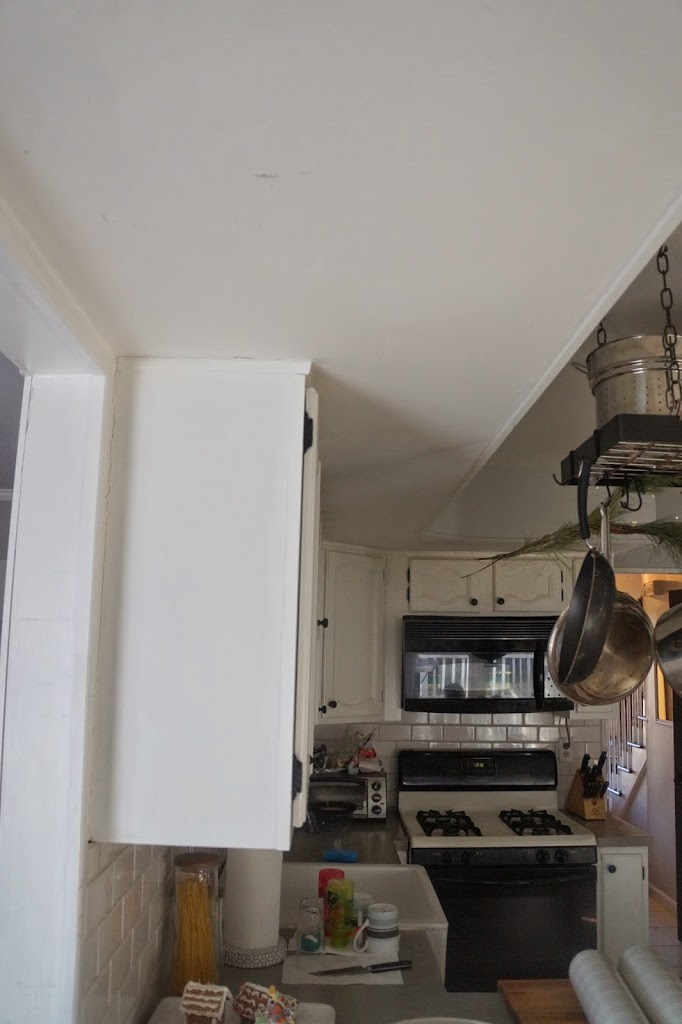 fixing a kitchen soffit