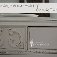 Painting a Dresser with DIY Chalk Paint
