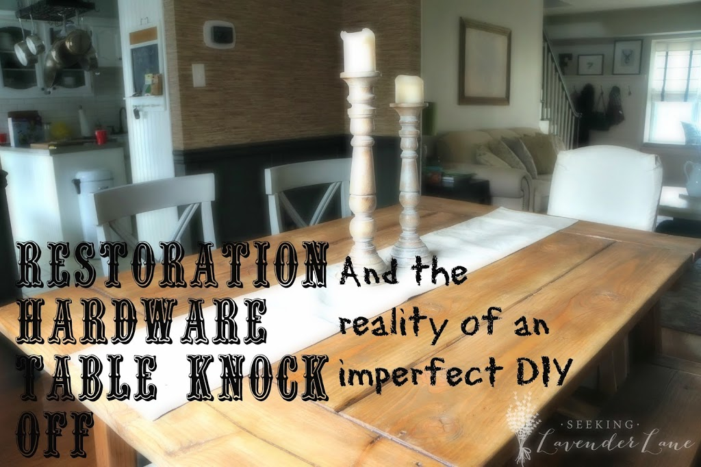 Restoration Hardware Dining Table Knock Off - Knock off restoration hardware dining table