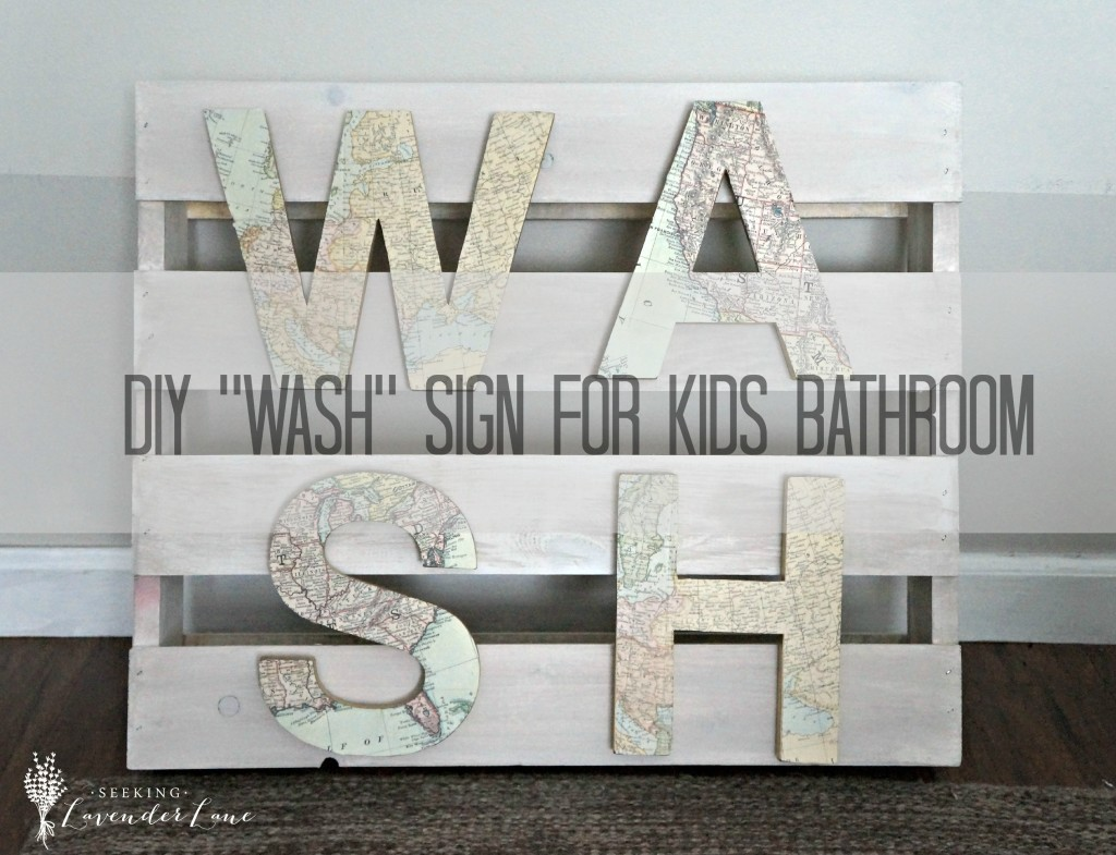 DIY WASH sign