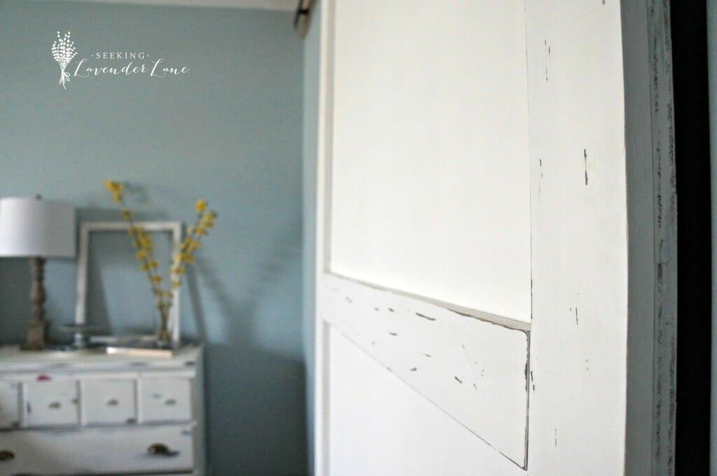 Barn Door Distressed Details