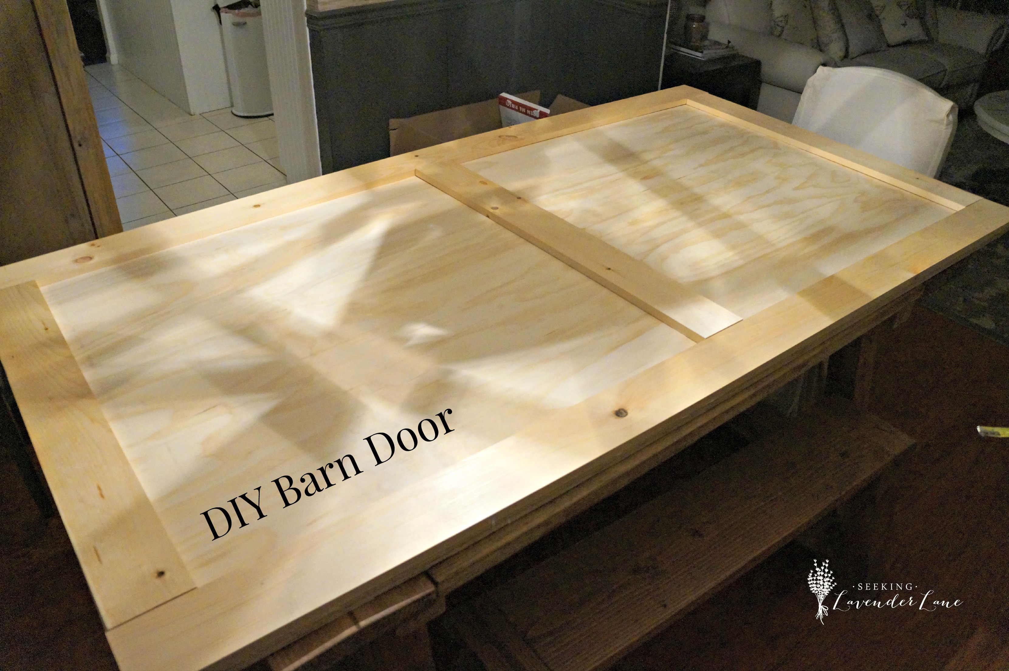 I Really Wanted To Keep A Clean Look To My Barn Door, But Adding A Diagonal  Piece To The Bottom And/or Top Would Add A Really Amazing Look As Well.