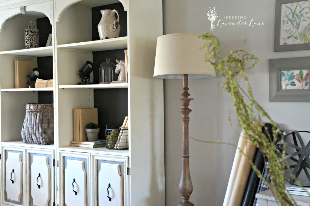 French Rustic Lamp