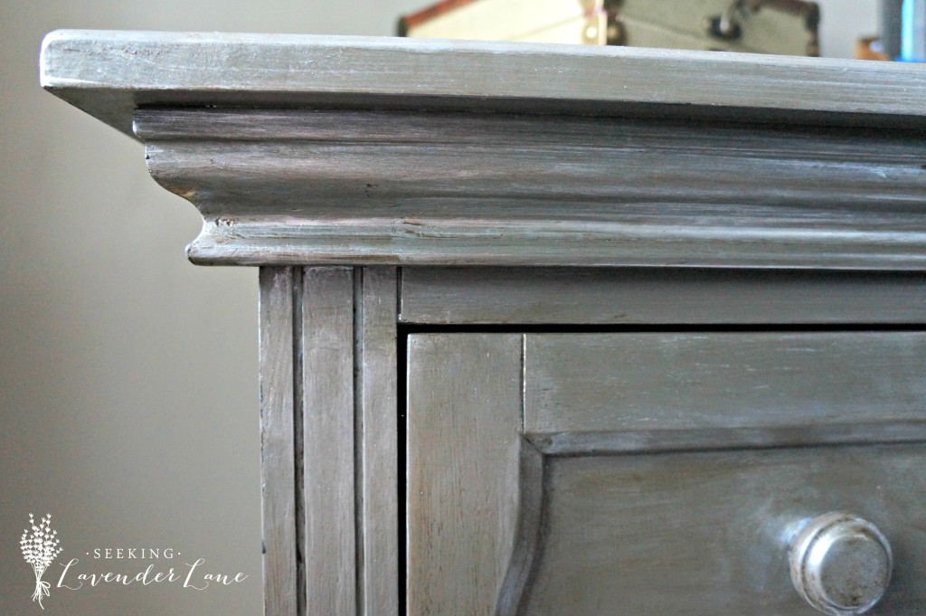 Creating Metal finish on Wooden dresser