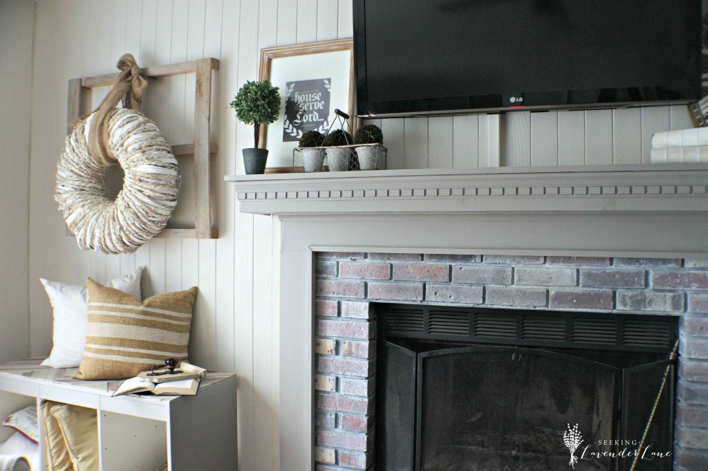 Fireplace and Rustic Decor