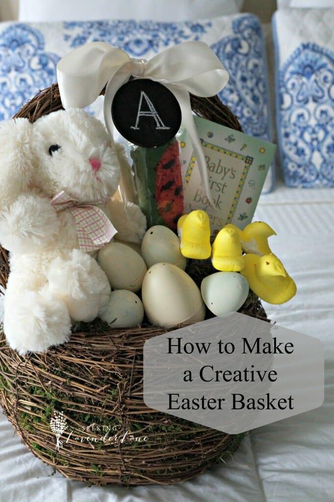 how to make a big easter basket