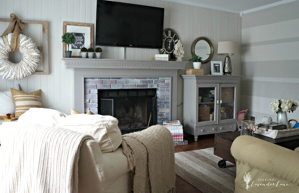 Seeking Lavender Lane Family Room Summer Tour