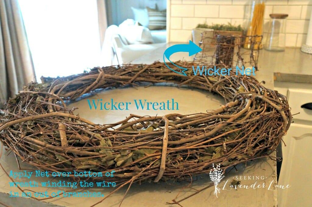 Wicker Wreath DIY Tutorial