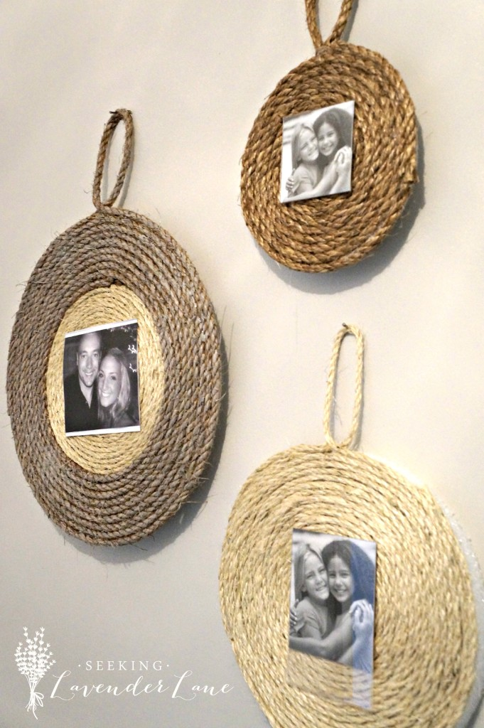 DIY Wall Rope Frame