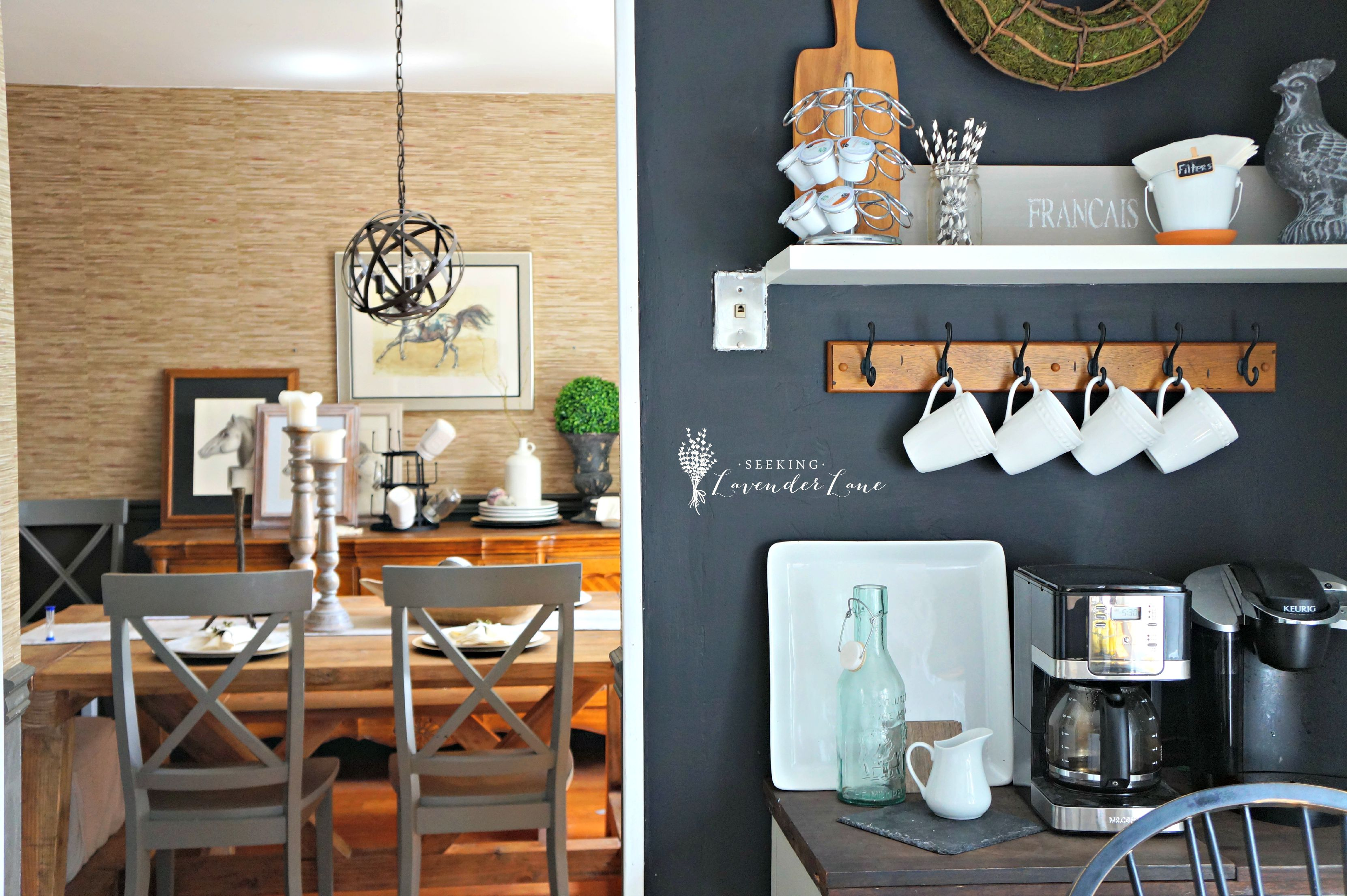 Superieur Chalkboard Wall Kitchen And Dining Room