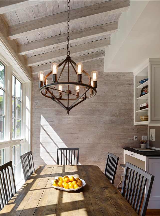 Sunday Features Rustic Dining Rooms - Seeking Lavendar Lane on Rustic:fkvt0Ptafus= Farmhouse Kitchen Ideas  id=31783