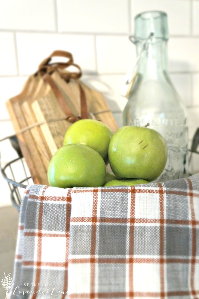 Fall vignette apples