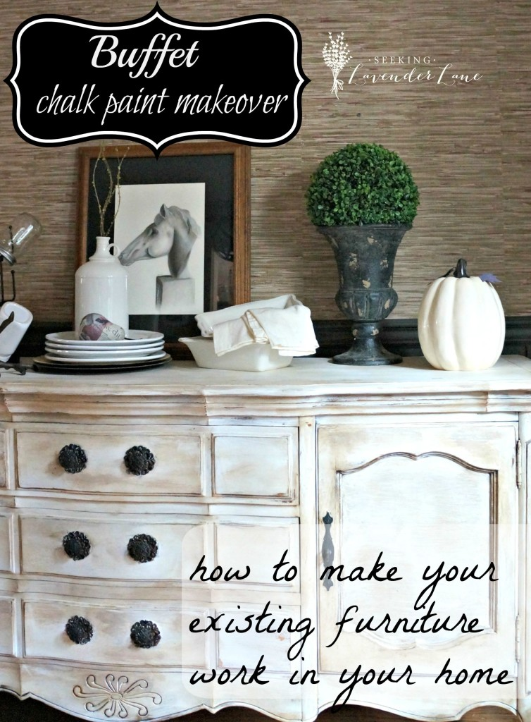 how to make your existing furniture work
