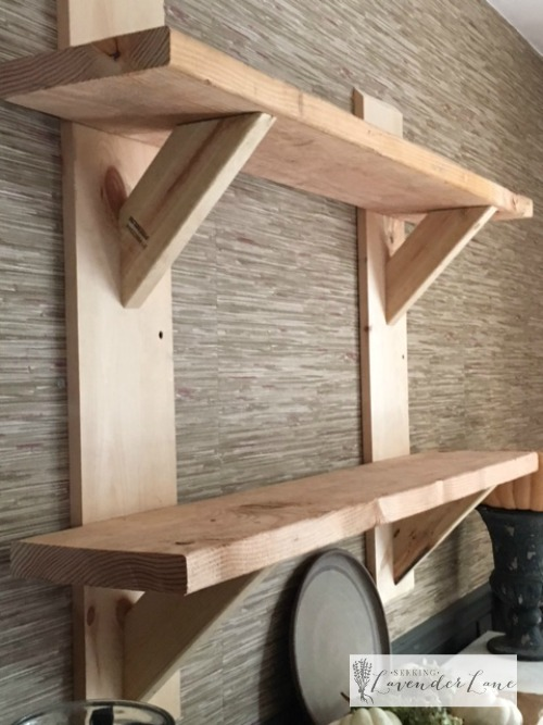 floating shelves unfished