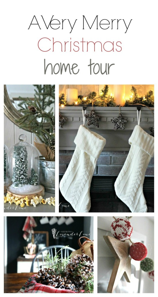 Christmas Home Tour Collage