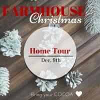 Farmhouse Christmas Home Tour with Seeking Lavender Lane