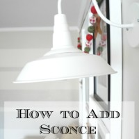 How to Add Sconce Lighting
