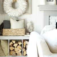 Neutral Farmhouse Family Room Reveal