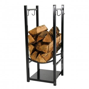 sunnydaze fireside log rack
