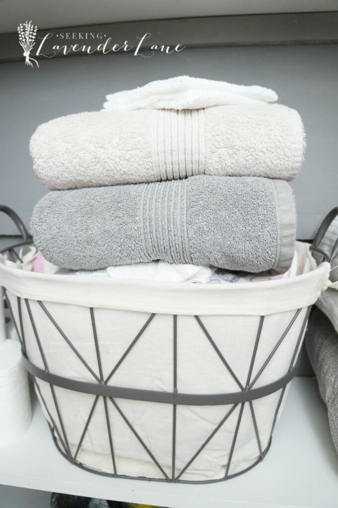 linen closet organization 1