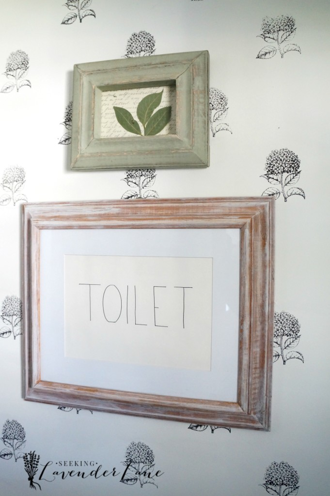 powder room makeover 7