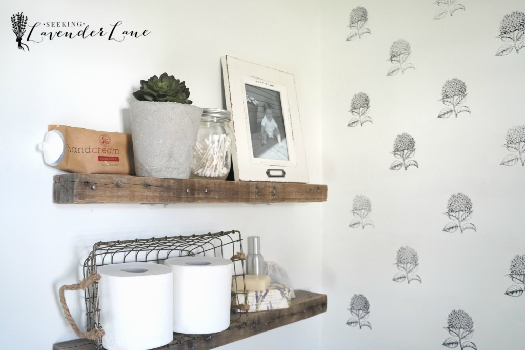 powder room makeover 9