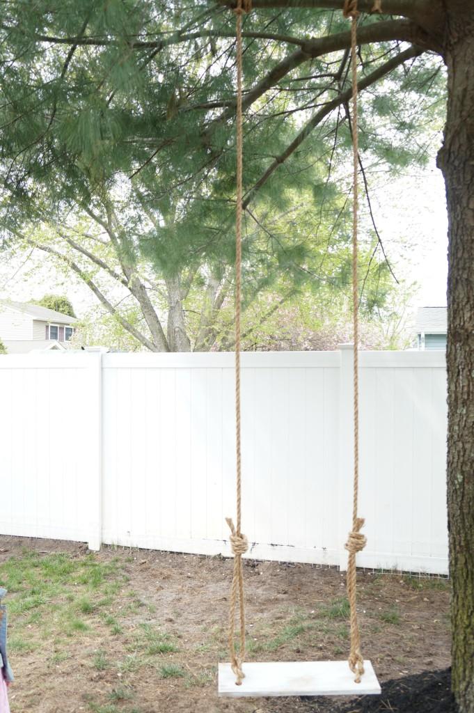 DIY Tree Swing 9