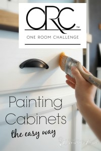 Painting Cabinets the easy way