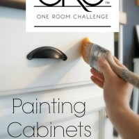 Painting Kitchen Cabinets the Easy Way