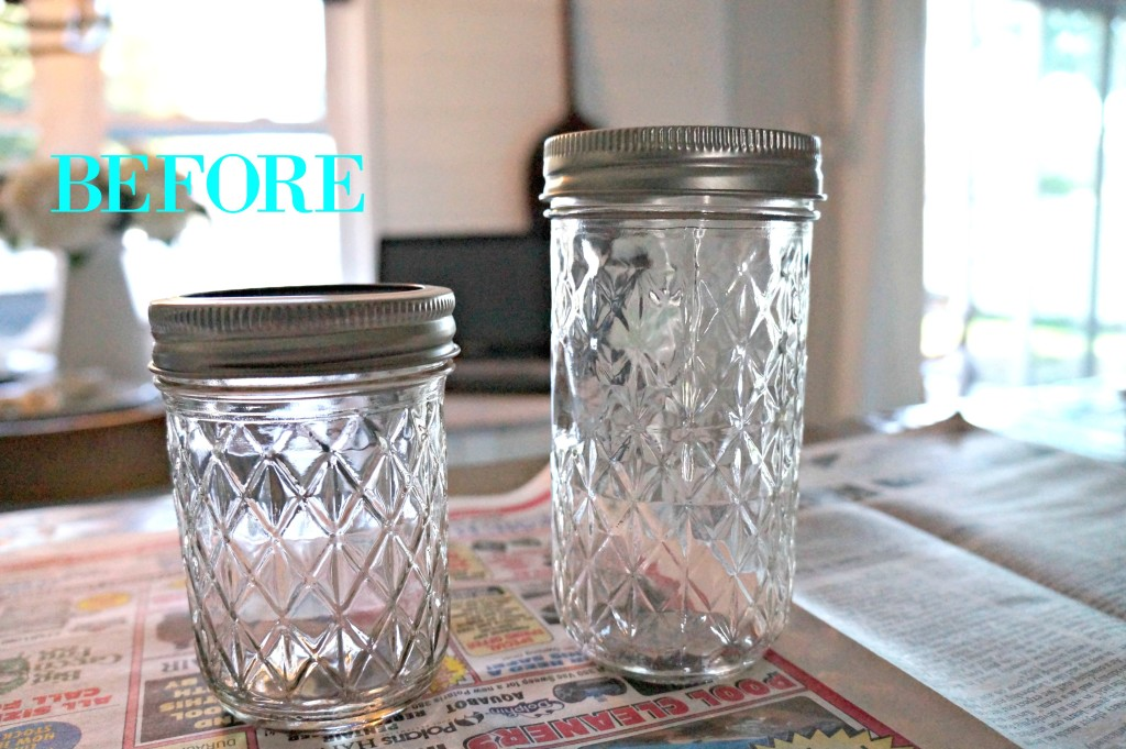 before mason jars