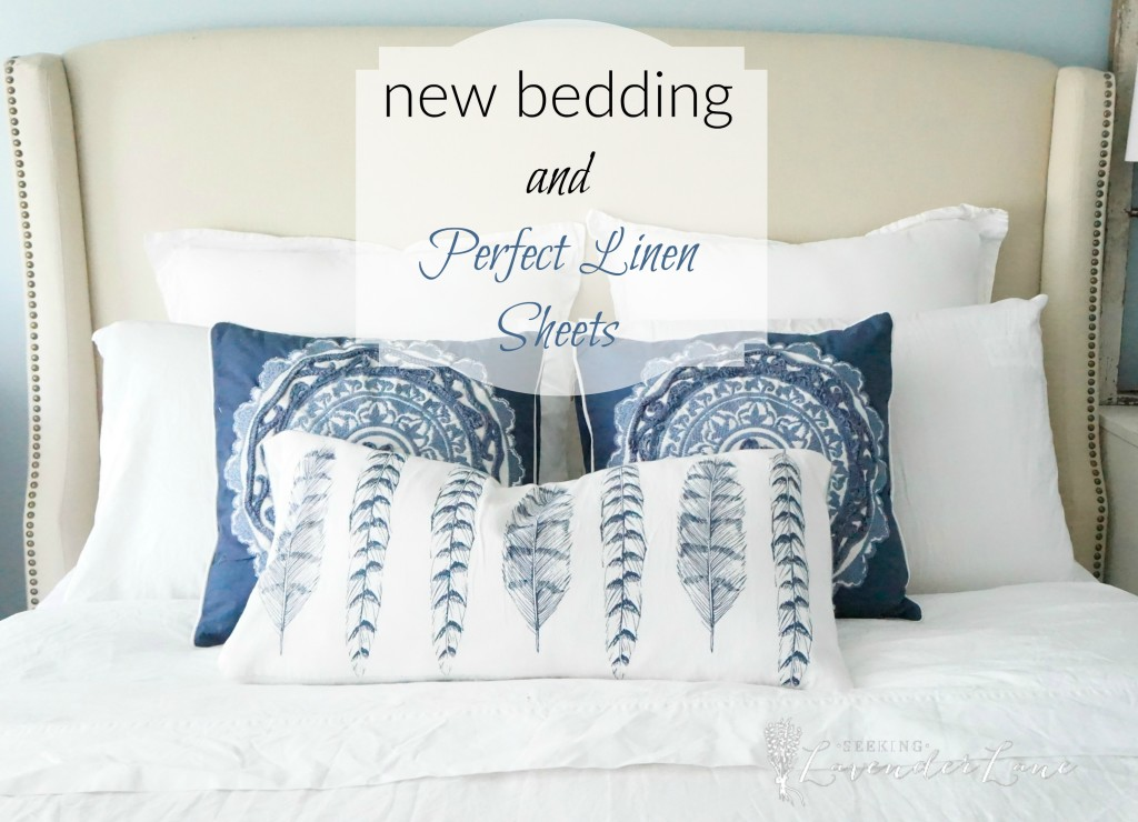 new bedding and perfect linen sheets