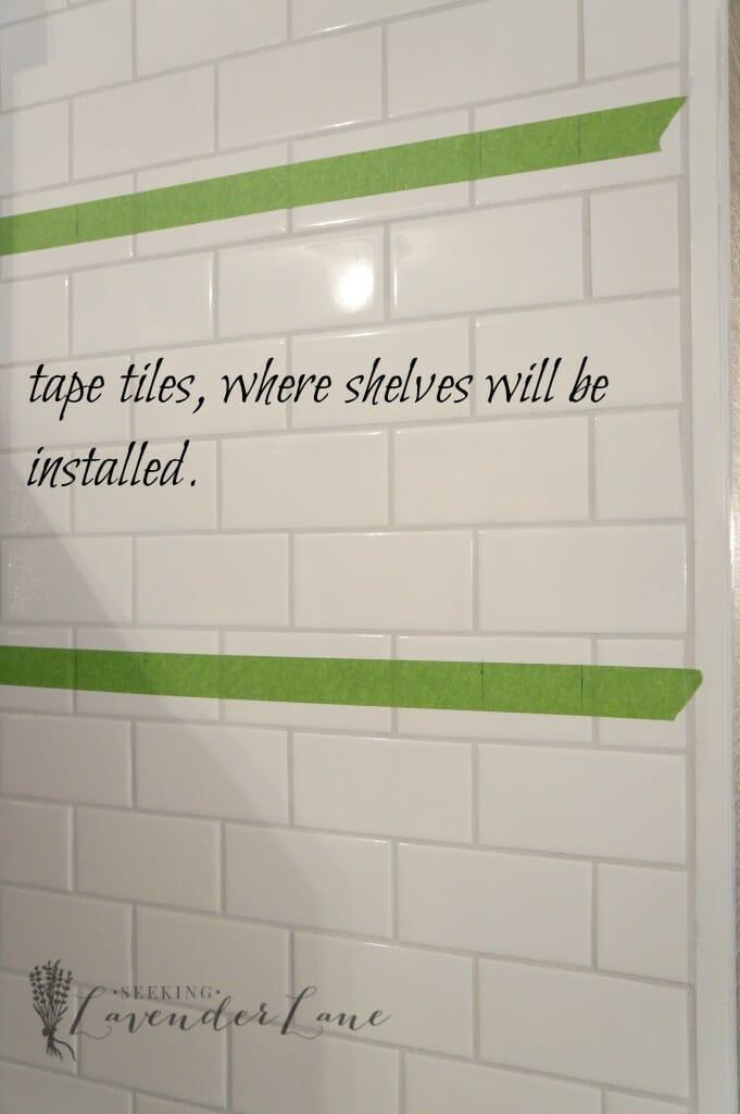 tape tiles
