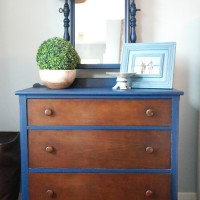 Velvet Finishes Dresser Makeover