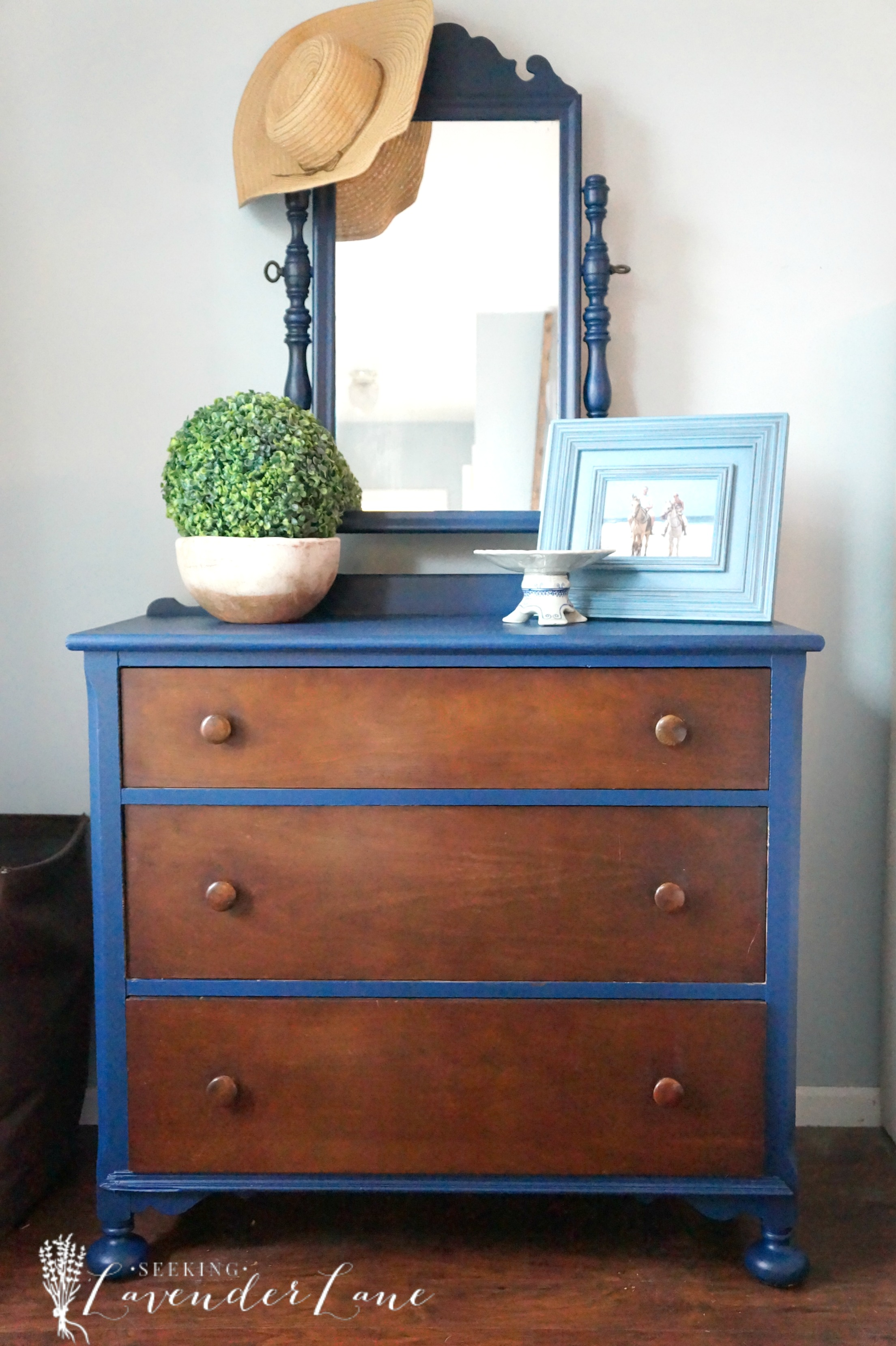 So I Love The Pop Of Color Added To Dresser Decided Test Out Drawers As Is And Kind Them For Now Will Probably Leave