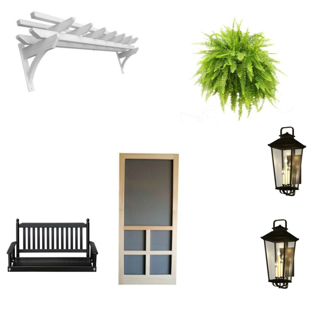 Curb Appeal design board