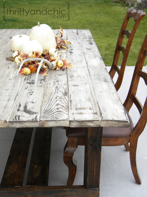 DIY Farmhouse Table 8
