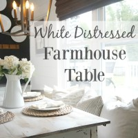 Distressed FarmhouseTable