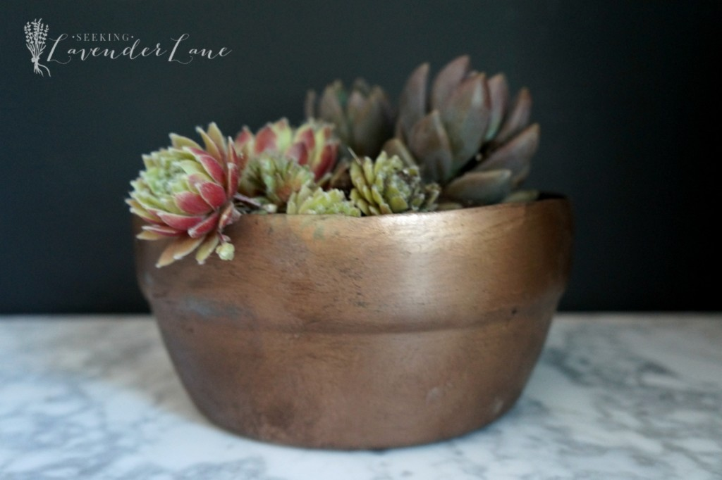 DIY vintage copper pot 4