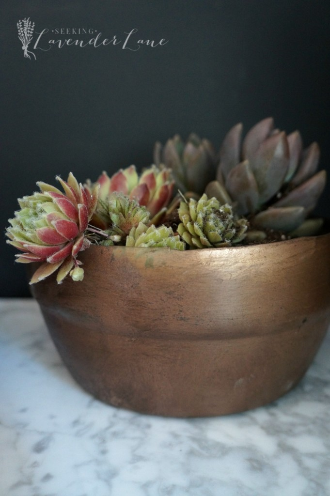 diy vintage copper pot 3