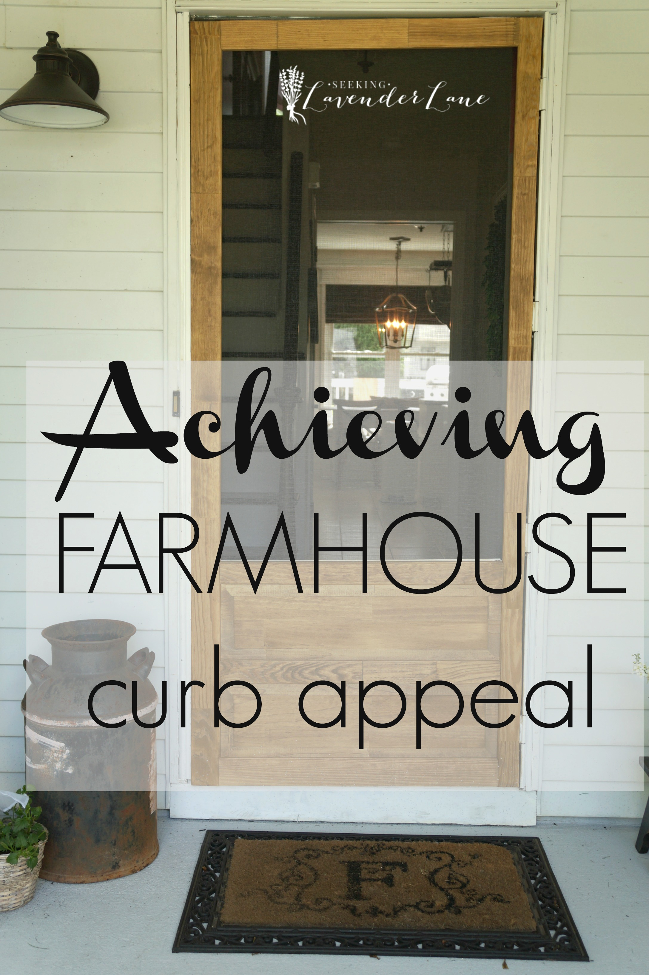 Front Yard Landscaping Ideas Achieving Farmhouse Curb Appeal