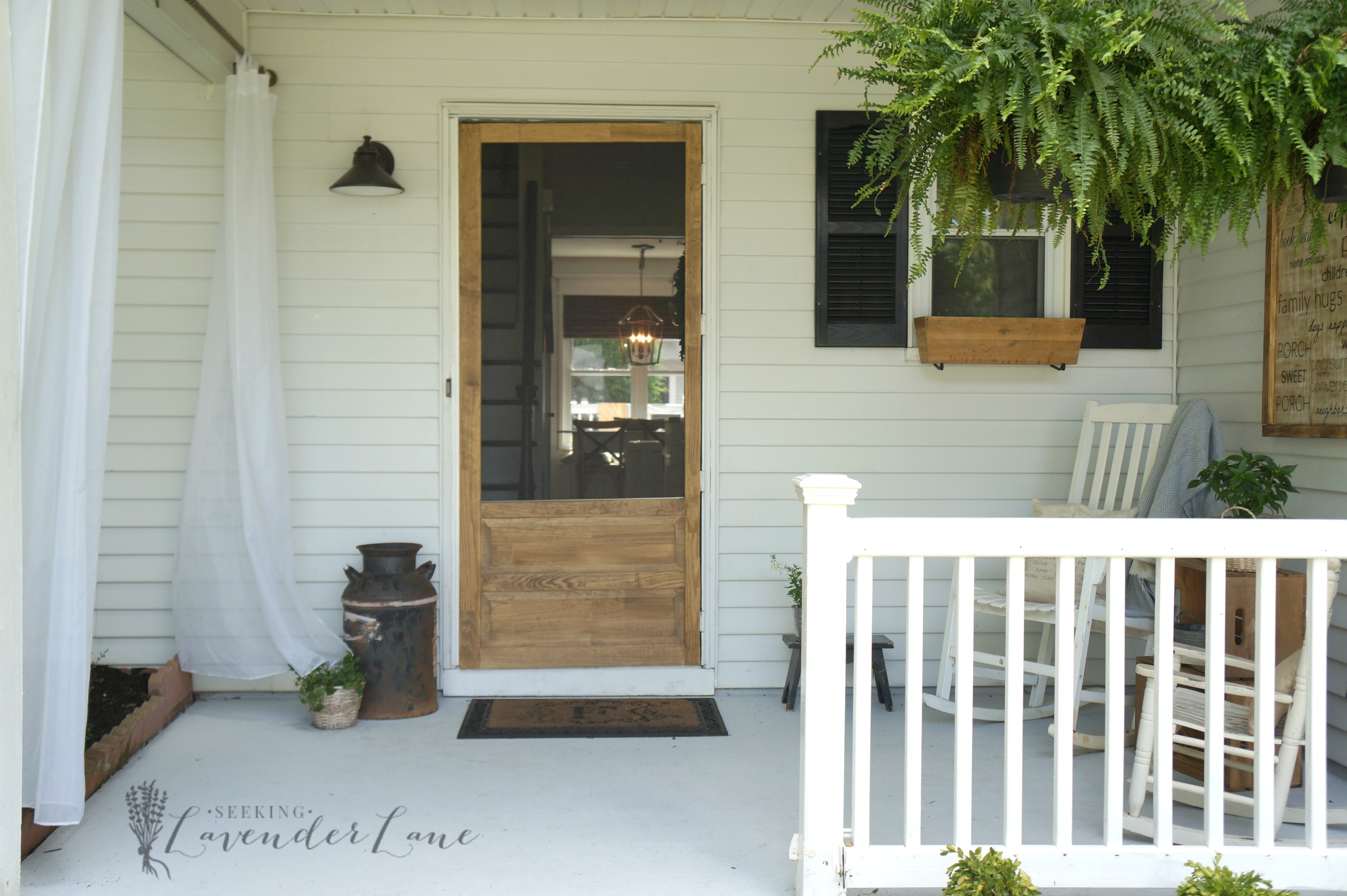 screen door 1 & Front Yard Landscaping Ideas: Achieving Farmhouse Curb Appeal